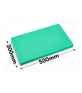 Skjærebrett HACCP, Grønn, 50 x 30 x 2 cm