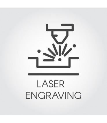 Lasert gravering av Tamahagane kniver