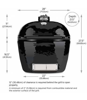 Primo Oval XL 400 All-In-One