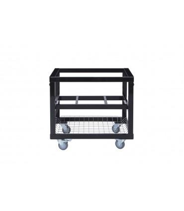 Basis Stålbord med kurv til Primo Oval XL400 / Primo Oval Large 300