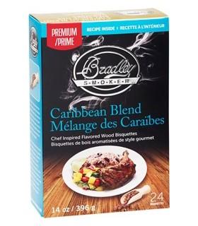 Bradley Røykebriketter av Caribbean Blend 48-pack