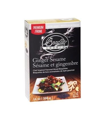 Bradley Røykebriketter av Ingefær & Sesam 48-pack