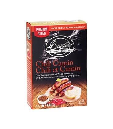 Bradley Røykebriketter av Chilli Cumin 48-pack