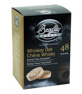 Bradley Røykebriketter av Whiskey Eik 48-pack