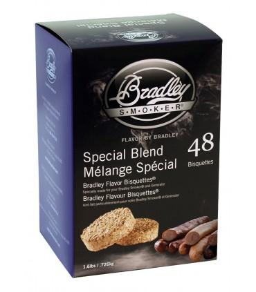 Bradley Røykebriketter av Special Blend 48-pack