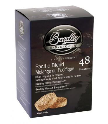 Bradley Røykebriketter av Pacific Blend 48-pack