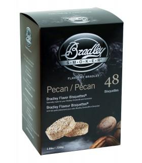 Bradley Røykebriketter av Pecan 48-pack