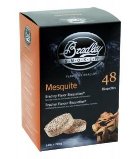 Bradley Røykebriketter av Mesquite 48-pack