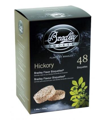 Bradley Røykebriketter av Hickory 48-pack