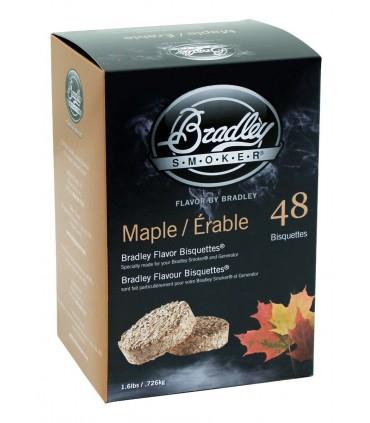 Bradley Røykebriketter av Lønn 48-pack