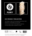 FUMY Eco-Friendly Firelighters  2,5Kg