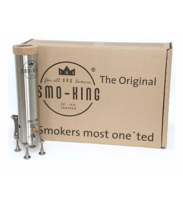 Smo-King Grill-SMO 0,65Liter, Batteri luft pumpe, Starter Set