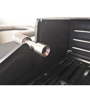 Grilladapter for fleksible rør i rustfritt stål Big-Grill-Smo 1,25 liter og Big-Old-Smo 2,3 liter