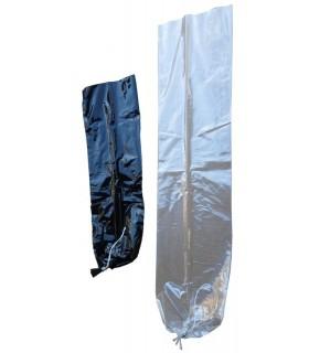 10 stk Plast Hvit D:90-L:500, knytt