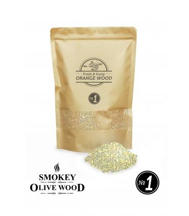 Røykemel av Appelsintre Nº1 - Smokey Olive Wood
