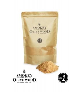 Røykemel av Oliventre Nº1 - Smokey Olive Wood