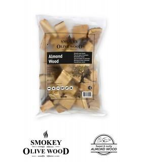 Wood Chunks Mandeltre Nº5 1,5kg - Smokey Olive Wood
