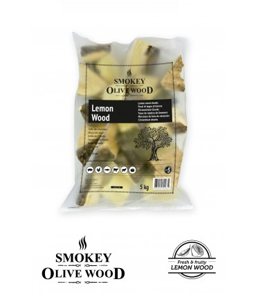 Wood Chunks Sitrontre Nº5 1,5kg - Smokey Olive Wood