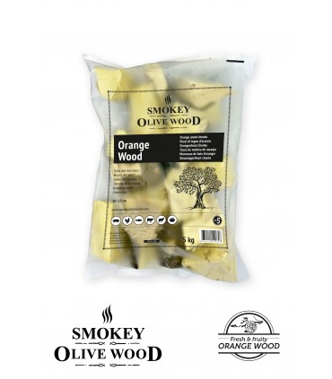 Wood Chunks Appelsintre Nº5 1,5kg - Smokey Olive Wood