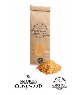 Røykemel av Mandeltre Nº1 - Smokey Olive Wood