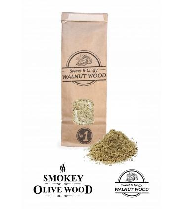 Røykemel av Valnøtttre Nº1 - Smokey Olive Wood