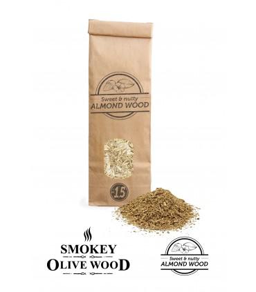 Røykemel av Mandeltre Nº1.5 for Røykpistol - Smokey Olive Wood