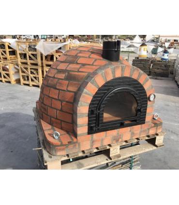 Baker/Pizzaovn Rustikk Rød 100 x 100
