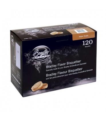 Bradley Røykebriketter av Lønn 120-pack