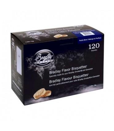 Bradley Røykebriketter av Pacific Blend 120-pack