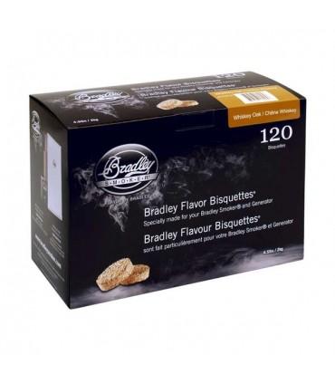 Bradley Røykebriketter av Whiskey Eik 120-pack