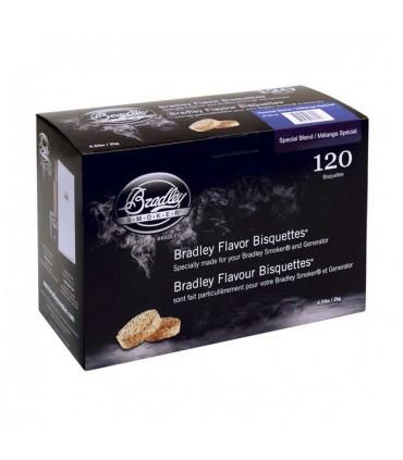 Bradley Røykebriketter av Special Blend 120-pack