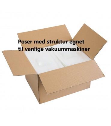 Trollvac Vakuumposer m/struktur Eske 15x20(1000)