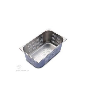 GN beholder/bakk 1/1 Perforert 200mm